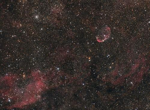NGC6888-Crescent Nebula (LRGB)