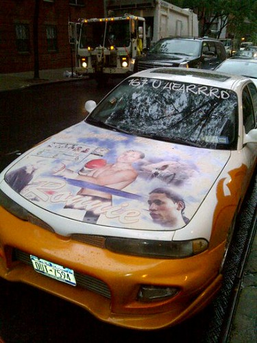 Ronnie Vargas Tribute Car