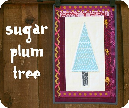 Sugar Plum Forest Mini Quilts