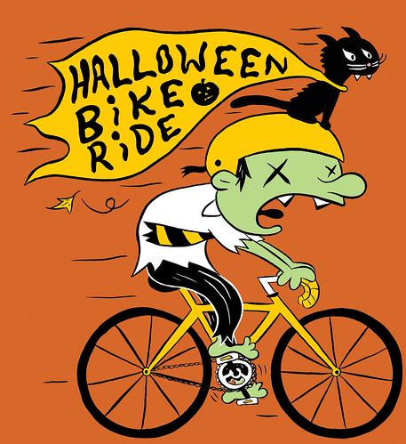 Portland Grimm Halloween Bike Ride
