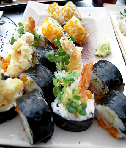 Tempura Shrimp Rolls
