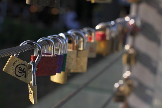 Locked love.