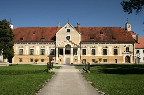 Vorderer Innenhof - Altes Schloß Oberschleißheim