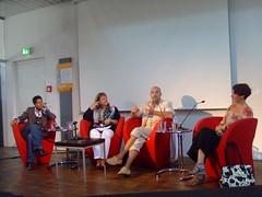 Monica Cantieni, Barbara Renno, Alban Nikolai Herbst und Katrin de Vries
