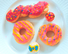 Sugary Life (Earle Hatsumy) Tags: stilllife food color art cooking recipe dessert photography baking yummy colorful doll sweet decorative cook sugar delicious homemade doughnut scrumptious inspirational bake rag adrienne ragdoll earle craving enriquez countess sumptuous craves hatsumy