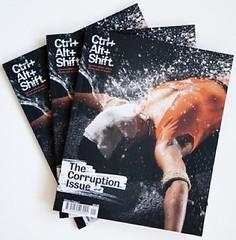 Ctrl.Alt.Shift Corruption Issue Cover Shot (fourteenten) Tags: corruption ctrlaltshift corruptionissue