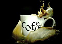 Coffee explosion (k4wea) Tags: coffee edited explosion mug splash 365alumni dailyishphoto