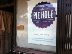"The Pie Hole ""coming soon!"""