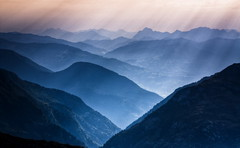 Misty Light - Lower l'Arve Valley (Steve Thompson images) Tags: france mountains alps french landscape alpine limestone karst chamonix hdr frenchalps aiguillerouge hautesavoie servoz stgervais canon1585 rochesdesfiz larvevalley lacsnoir