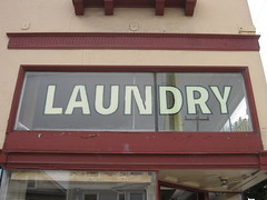 laundry (Golden Star Laundry & Cleaner, 6101 California Street at 23rd Avenue) (throgers) Tags: sanfrancisco california laundry guesswheresf 23rd gwsf gwsflexicon