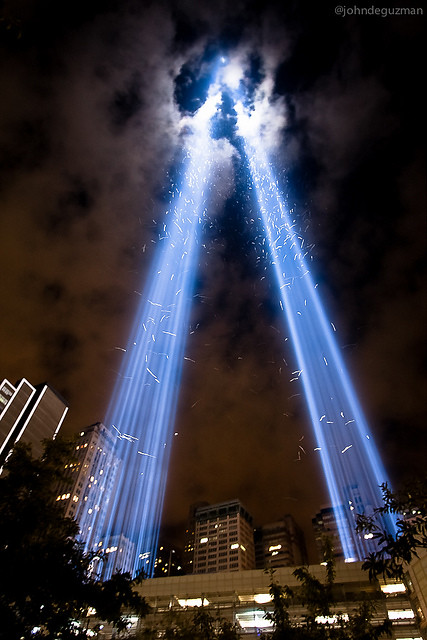 September 11 Photo, Opening up Skies