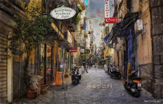 Street Scene -Naples