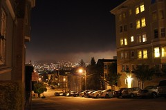 twin peaks from pac heights, stars (l . e . o) Tags: sanfrancisco california fog stars sfo twinpeaks rollingin pacheights roundtwo sanfranciscoatnight hoteldrisco
