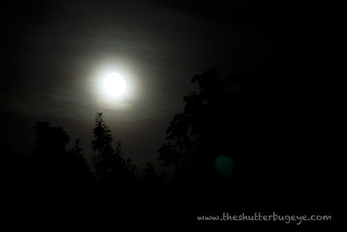 hazy moon by The Shutterbug Eye™