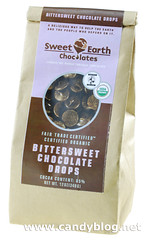 Sweet Earth Bittersweet Chocolate Drops - Fair Trade & Organic