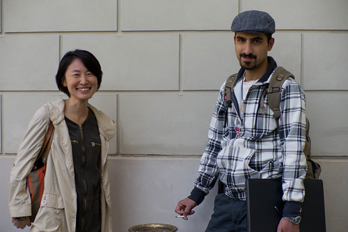 Chiaki Hayashi and Bassel Safadi