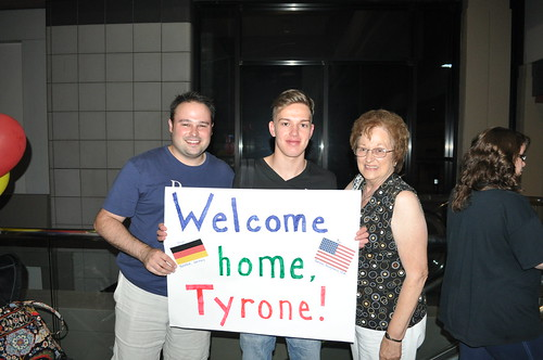 Tyrone's Arrival