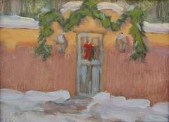 Gate in Winter   6 x 8