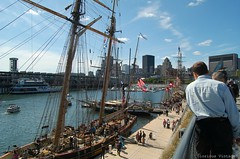 Tall Ships (Glorious Vintage ~ flying with stars for you!) Tags: tallships oldportofmontreal
