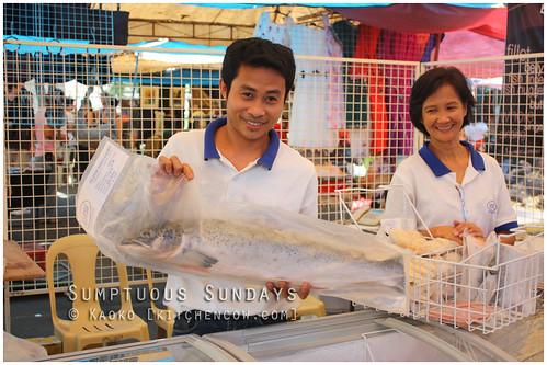Legazpi Sunday Market: Fish!