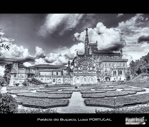 Palácio do Buçaco BW by Paulo Veiga Photography on/off vacation