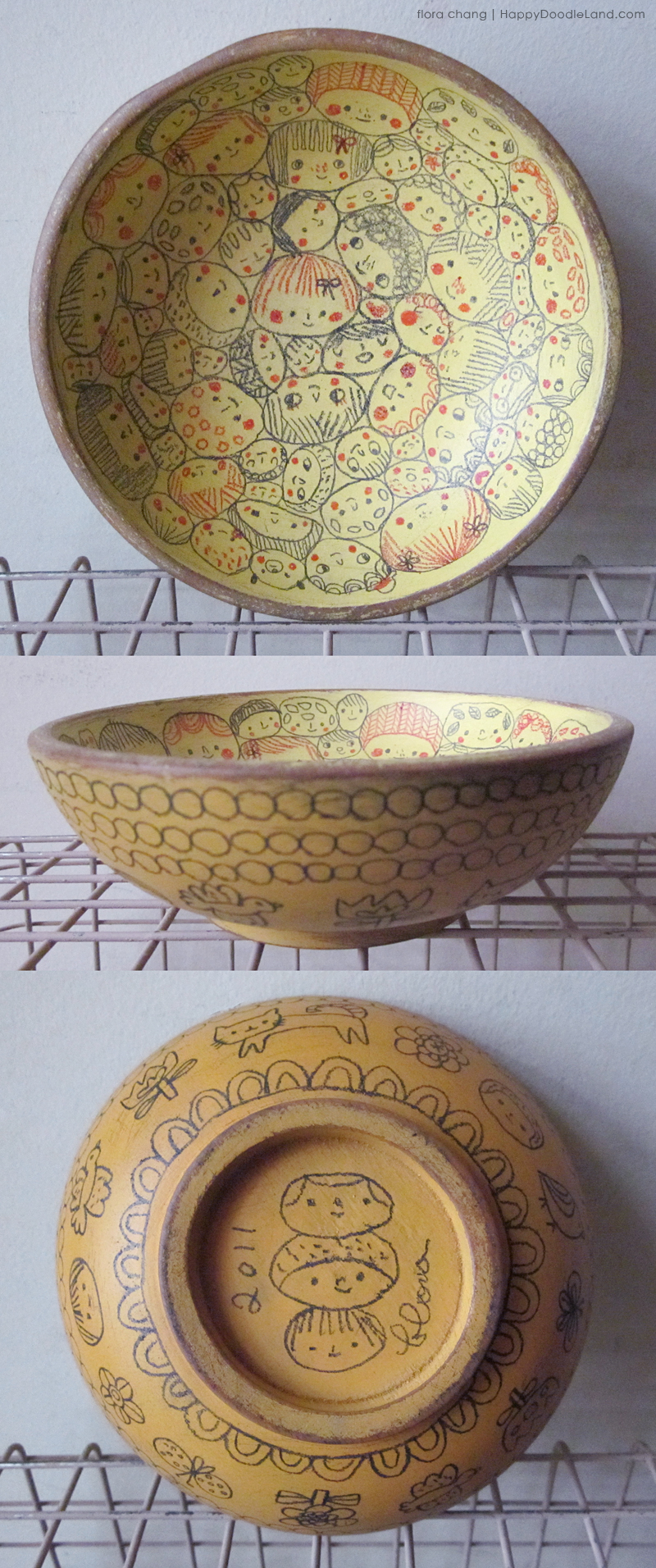 Happy Faces Bowl