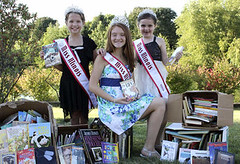NAM Illinois Queens donate books to the Bookworm Angels