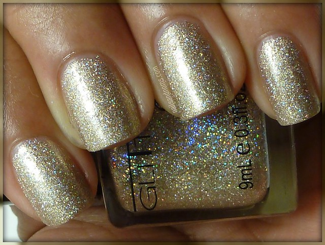 Glitter Gal - White Gold Sparkle