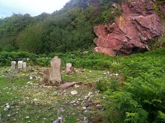 Old Graveyard near Machrie, Arran