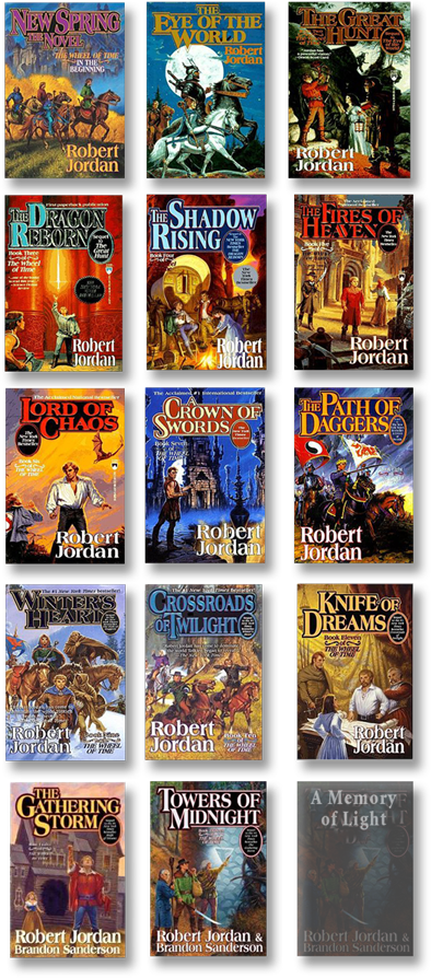 Wheel of Time reeks