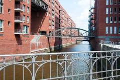 _DSC8898 (durr-architect) Tags: city water port germany district hamburg free goods warehouse transfer neogothic speicherstadt zone warehouses customs redbrick