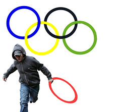 New Logo for the London Olympic Looting Team... (pure evil gallery) Tags: london evil hackney seb olympics pure riots coe looting