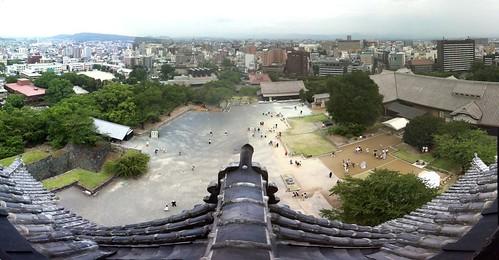 Desde el Castillo de Kumamoto