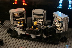 The Chemical Brothers (Brainbikerider) Tags: music night big do lego brothers stage it we again beat electronic synthesizer chemical moc