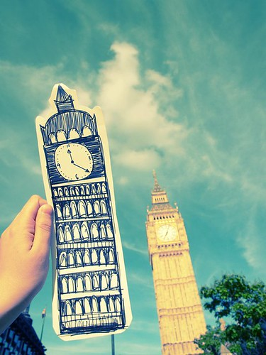 Which one is the real Big Ben?