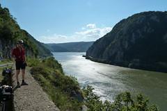 Serbian Danube gorge