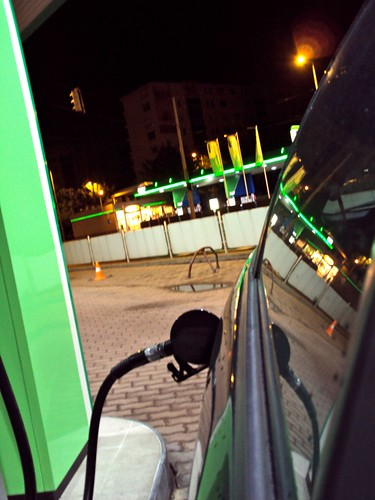 Preparation for Road trip: Budapest to Cologne, Gas