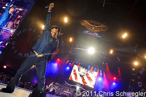 Kid Rock - 08-12-11 - Comerica Park, Detroit, MI