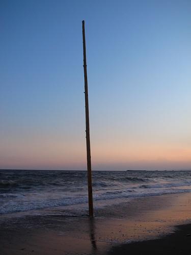 a pole