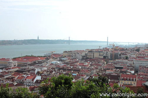 The view from Castelo de São Jorge, Lisbon