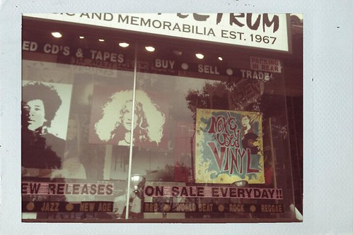 LB record shop