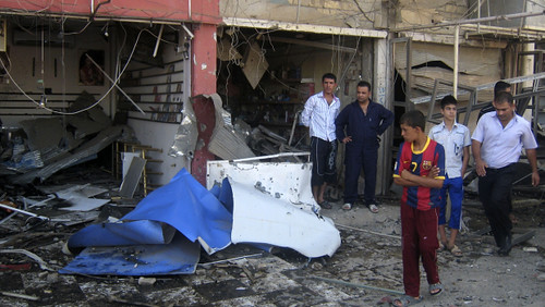 A series of bomb explosions hit Iraq on August 15, 2011. The above photo is of one of the attacks in the northern city of Kirkuk. by Pan-African News Wire File Photos