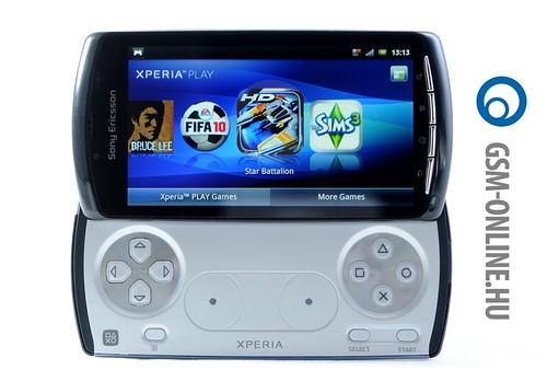 Sony Ericsson Xperia Play PSP üzemmód