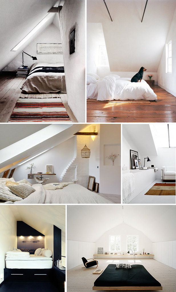 attic collage by cataniee