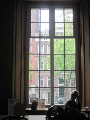 Big Windows During Amsterdam Rain