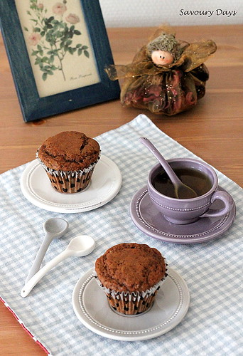 Chocolate coffee muffin