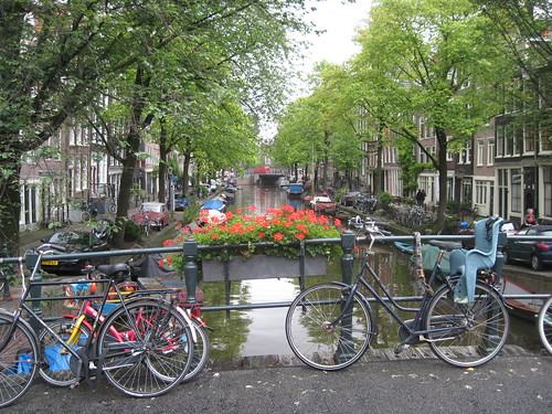 Canal and Bikes