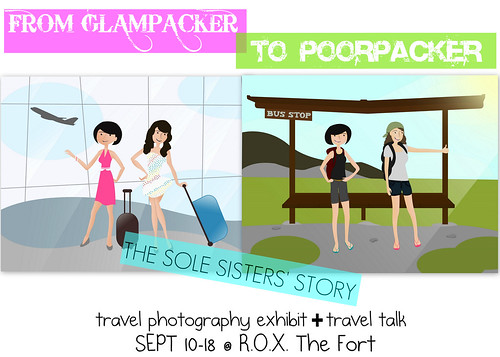 From Glam to Poor - Travel Photo Exhibit