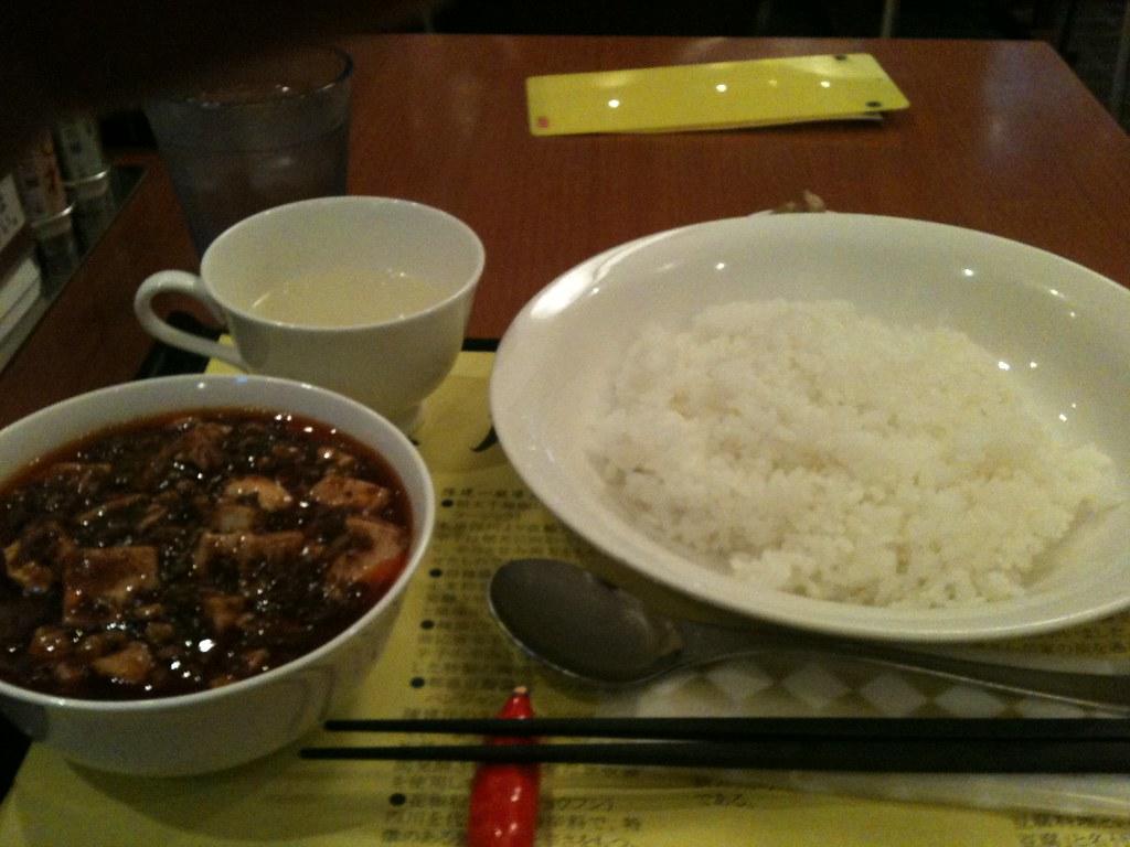 Mapo Tofu from Iron Chef Chen Kenichi (陳健一の麻婆豆腐)