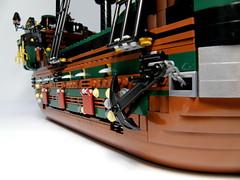 Pirate ship Poseidon's wrath-0011 (JoDo(Jaudeau)) Tags: ship lego pirates modular pirate pirateship moc newpirates classicpirates